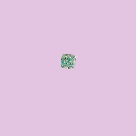 0.07ct Fancy Bluish Green Diamond