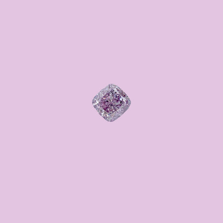 0.22ct Fancy Pink Purple Diamond