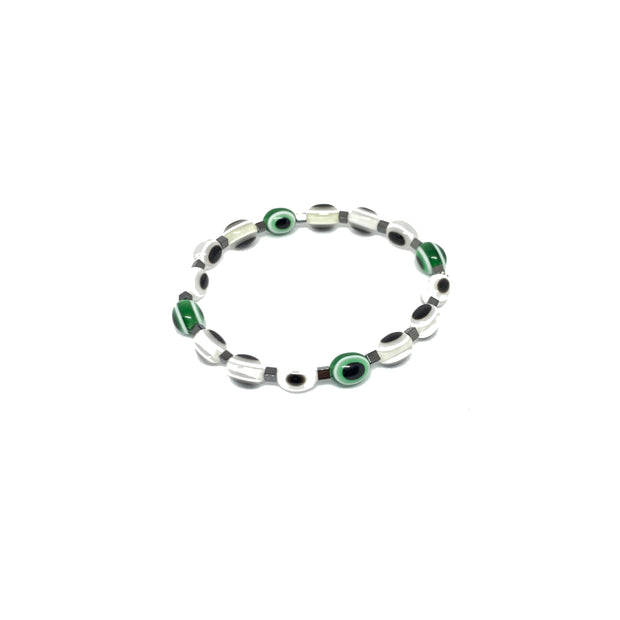 Dirty Martini Evil Eye Bracelet
