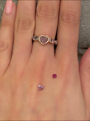 0.15ct Deep Purplish Pink Diamond