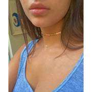 Rose Heart Choker