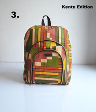 """Off The Street"" Ankara BackPack"