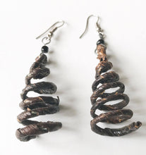 Vegan Petite Banana Fiber Earrings