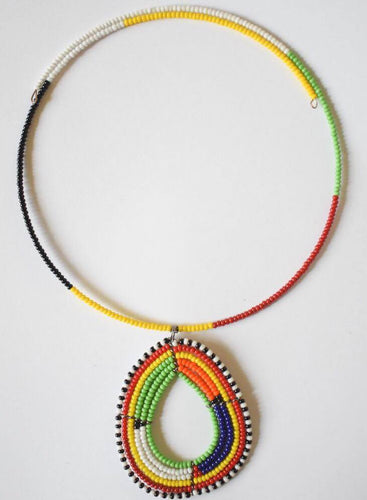 Maasai Choker Necklace (Pendant)