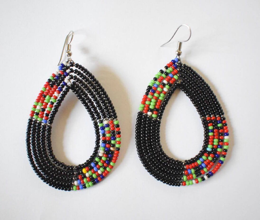 village beaded maasai ethnic image jewellery crafts earrings product african home