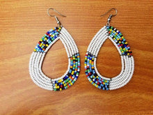Handmade African Maasai beaded Earrings