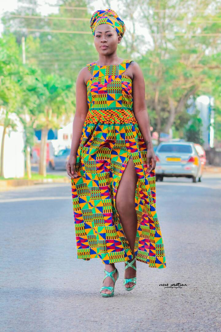 Kente Princess Maxi