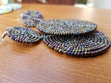 Rare Maasai Beaded Statement Earring (Limited)