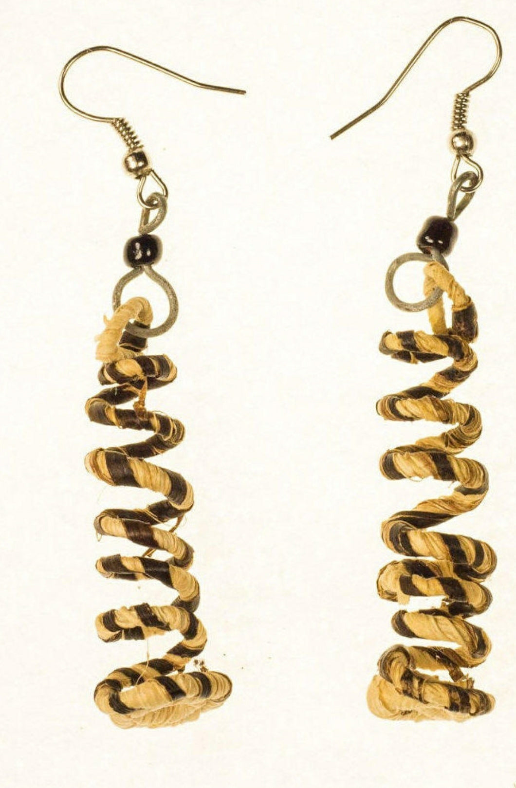 Vegan Twist and Shout Banana Fiber Earrings
