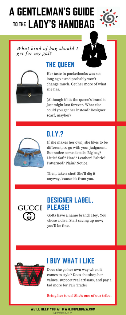 The Gentleman's Guide to the Lady's Handbag