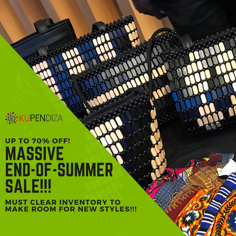 A big, Big, BIG end-of-summer SALE at Kupendiza