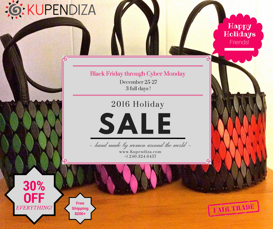 Kupendiza Sale! Black Friday to Cyber Monday