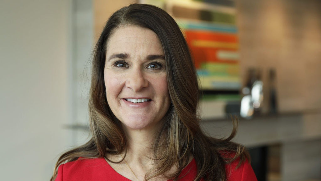 "Melinda Gates: ""When money flows into the hands of women, everything changes."""