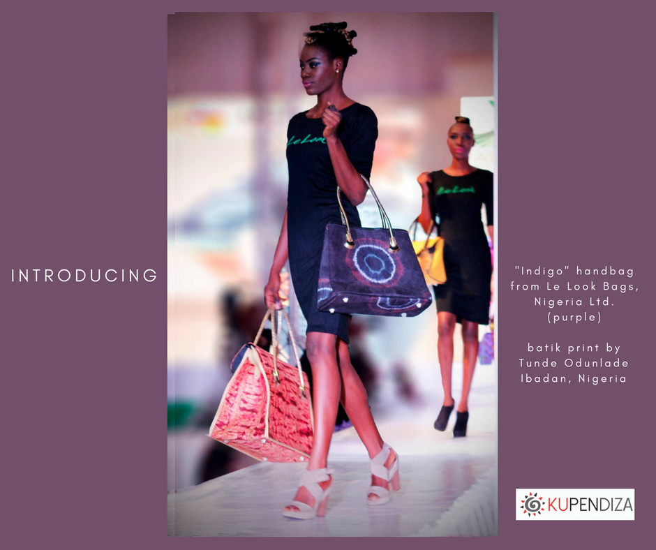 Introducing Tunde Odunlade Prints on Le Look Handbags ~ 2017