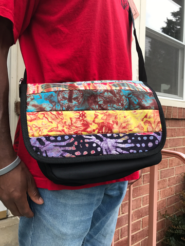 LeLook-messenger-bag-multicolor-African-cloth-from-Kupendiza