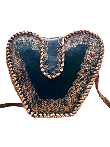 Heart-shaped-crossbody-bag-from-Guyana-black-1-stamped-sheepskin-leather-for-Kupendiza