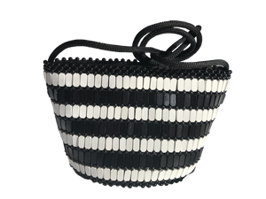 Small-crossbody-bag-in-black-and-white-Kupendiza