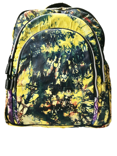 Addy-Adire-backpack-from-Kupendiza-LeLook-cotton-three-pocket-yellow
