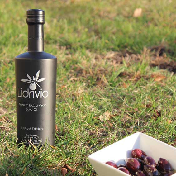 Lidrivio Black Limited Edition Extra Virgin Olive Oil (500ml)