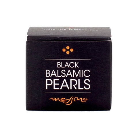 Black Balsamic Pearls