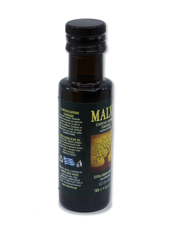 Malva Greek Extra Virgin Olive Oil (100ml)