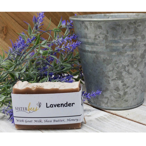 Lavender Handmade Soap (With Goat Milk, Shea Butter, Honey)