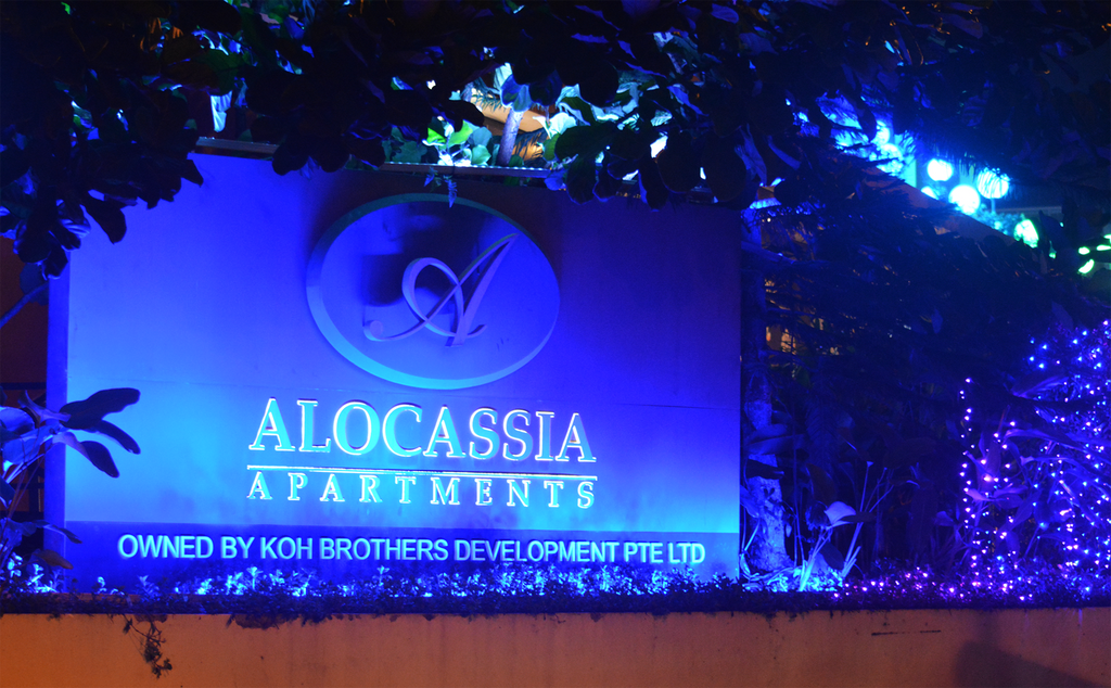 Alocassia Service Apartment Singapore 2016 Christmas Project