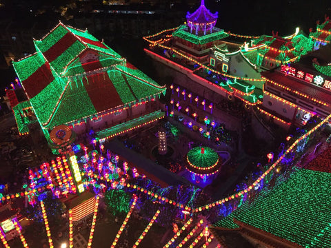 Ezzolights - Fairy LED lights on display at Penang