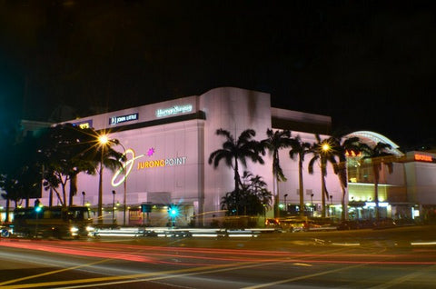 Ezzolights project at Jurong Point Mall - Singapore