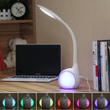 LED table lamp TOUCH DIMMER FLEXIBLE TABLE LAMP WITH LIVING COLOR LIGHT - Ezzolights.com