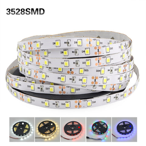 LED Flexible Strip NON-WATERPROOF 3528 LED FLEXIBLE STRIP 60LEDs/M - Ezzolights.com