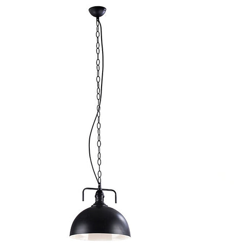Ceiling Light Fixture ZODYN WAREHOUSE IRON BOWL PENDANT LIGHT - Ezzolights.com