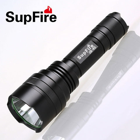 SUPFIRE C8-R5 USB RECHARGEABLE TORCHLIGHT R5