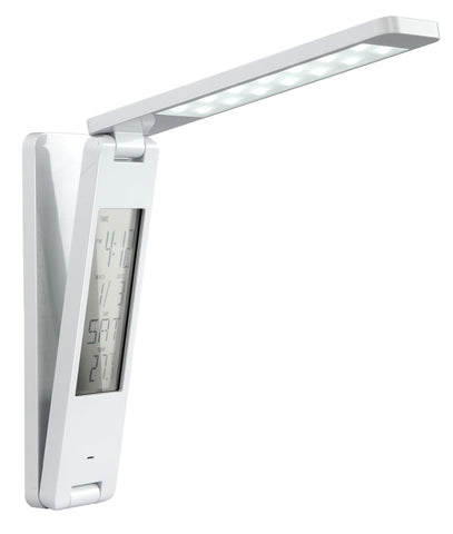 LED table lamp PORTABLE RECHARGEABLE LED TABLE LAMP WITH LCD CALENDAR - Ezzolights.com