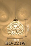 Zodyn Pendant Lights MODERN MINIMALIST ZODYN IRON PENDANT LIGHT - Ezzolights.com