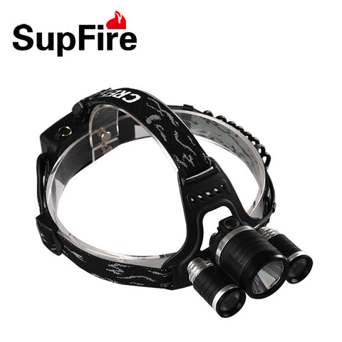 LED Torchlight SUPFIRE HL33 PROFESSIONAL HEAD LAMP T900 - Ezzolights.com
