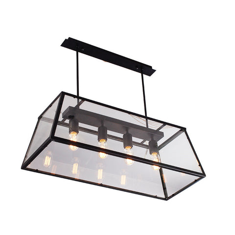Pendant Light ZODYN IRON SHOWCASE PENDANT LIGHT - Ezzolights.com