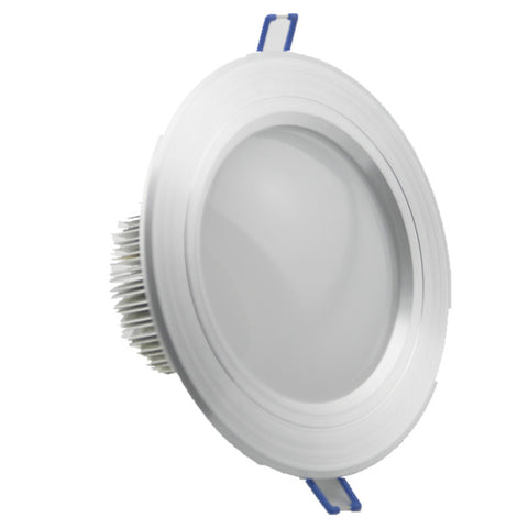 LED Downlight JANUS SILVER RECESSED LED DOWNLIGHT - Ezzolights.com