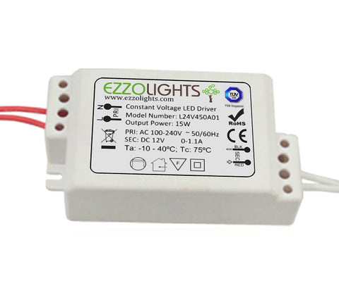 Power Supply 15W MR16 EXTERNAL DRIVER FOR CERES - Ezzolights.com