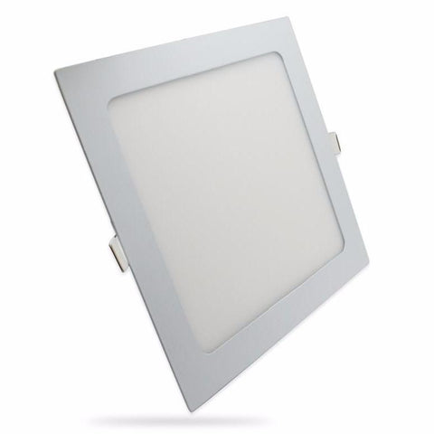 "LED Downlight BUDGET 8"" 18W NIPIS SQUARE THIN PANEL DOWNLIGHT NSQ01 - Ezzolights.com"