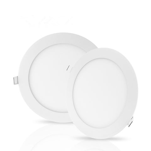 "LED Downlight BUDGET 4"" 6W NIPIS ROUND THIN PANEL DOWNLIGHT NRD01 - Ezzolights.com"