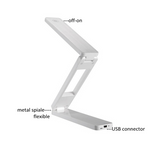 LED table lamp PORTABLE AND FOLDABLE RECHARGEABLE ENERGY-SAVING LED TABLE LAMP - Ezzolights.com