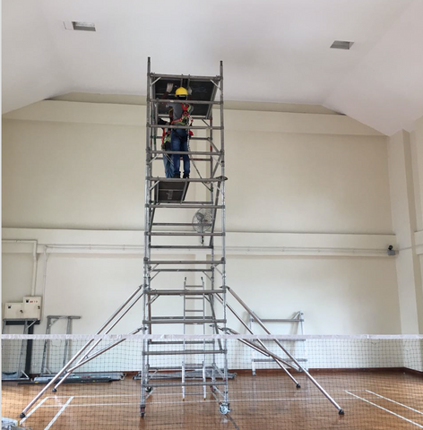service installation Scaffolding by weFix SG - Ezzolights.com