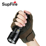 Flashlights & Torchlights SUPFIRE D12 7W 700LM USB CHARGE WATER RESISTANT TORCHLIGHT WITH FIVE MODES - Ezzolights.com