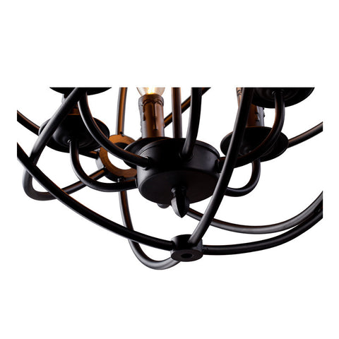 Pendant Light ZODYN IRON RING PENDANT LIGHT - Ezzolights.com