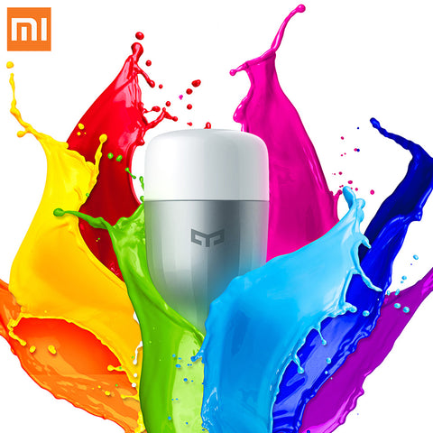 Smart LED Bulb XIAOMI MiJia YEELIGHT SMART LED BULB WITH APP WIFI REMOTE CONTROL - Ezzolights.com