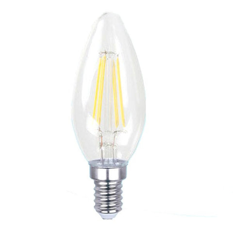 LED Bulb 2W 4W E14 E27 FILAMENT CANDLE BULB - Ezzolights.com