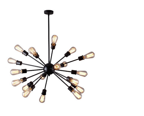 Ceiling Light Fixture ZODYN IRON SATELLITE PENDANT LIGHT - Ezzolights.com