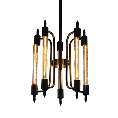 Ceiling Light Fixture ZODYN IRON FOUR BASE CEILING LIGHT - Ezzolights.com