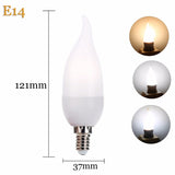 LED Bulb E14/E27 2W/4W FILAMENT FLAME BULB - Ezzolights.com